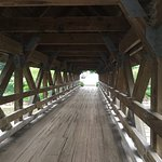 Covered bridge at Riverwalk