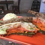 How about a Veggie Reuben- Special of the day!