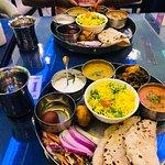 Veg Thali @Indian Spice