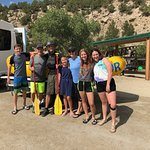 Our family with instructor QUIN
