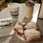 What everyone comes for--beignets!!