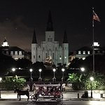 Across the street from Cafe Du Monde--Jackson Square
