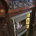 A beautiful fire place at The Turet
