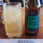 Agave and Ginger Cider