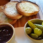 DUCK LIVER PATE toasted sourdough