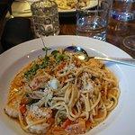 Pasta and Prawns