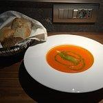 Room service - tomatoe soup