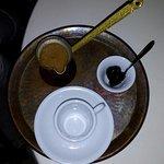 GREEK COFFEE BEFORE SERVE