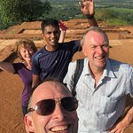 On top of the world, Sigiriya Rock.