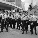 Riot Police, HK Occupy Protests, 2014, Hong Kong