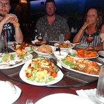 Family really enjoyed the food!
