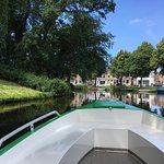 Sail along the historic canals of Alkmaar, like the lovely Geestersingel.