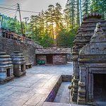 Temples of the sacred temples of Jageshwar