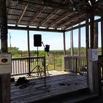 Tiki stage with a view