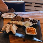 Lovely food and ambiance. Great for lunch. Wonderful views down to the sea