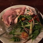 honey roast ham salad