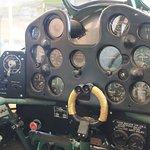 CAC CA-13 Boomerang cockpit