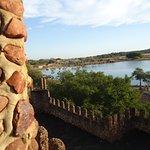 Vista interna do Castelo dos Leões