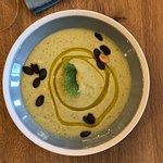 Soupe froide brocolis fêta