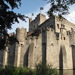 Gravensteen Castle - View from the canal - No. 3