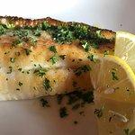 simple fish and lemon