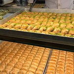 delicious fresh baklavas