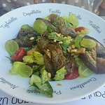 La salada végétarienne