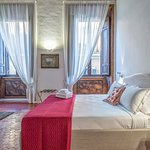 Scorcio della Suite, la camera più prestigiosa con i suoi 30 m2