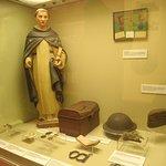Витрина исторической части экспозиции