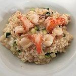 Risotto with shrimp and calamari