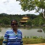 Bilde fra Den gyldne paviljong (Kinkaku-ji)