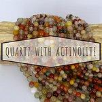 Quartz With Actinolite