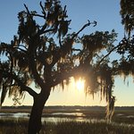 The Sun Sets Gold on Beaufort
