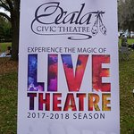 Live onstage from the Ocala Civic Theatre