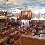 Inside the Hafbrauhaus Restaurant in St. Pete, Florida.