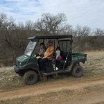We rented this buggy to explore the grounds and area.