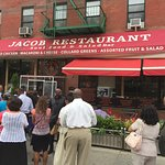 Jacob Soul Food attracts a crowd!