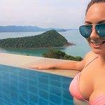 View from Infinity Pool @ Santhiya Resort