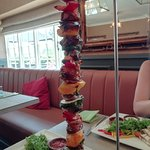 Mixed Hanging Kebab