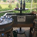 Self serve beverage station