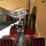 Annexe du restaurant terasse extérieur