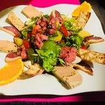 A déguster pendants le mois de Juillet et Août nos salades et nos menus