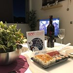 Cenas interesantes en Sou sushi Santa Cruz.