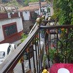 Vista desde mesa de un balcon