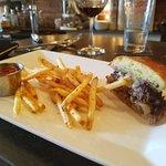Blue Plate Burger (Monday night special - split order)