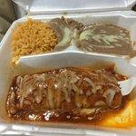 Kids chicken enchilada