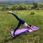 Vinyasa Yoga at 8,000 feet - loving outdoor yoga