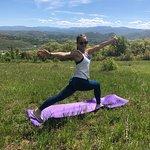 Vinyasa Yoga at 8,000 feet