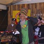 The Stage @ Wynwood Yard with the Reggae Band