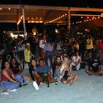 The audience of the Reggae Night @ Wynwood Yard